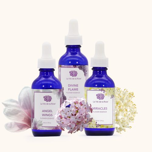 Rapid response flower essences™ la vie de la rose